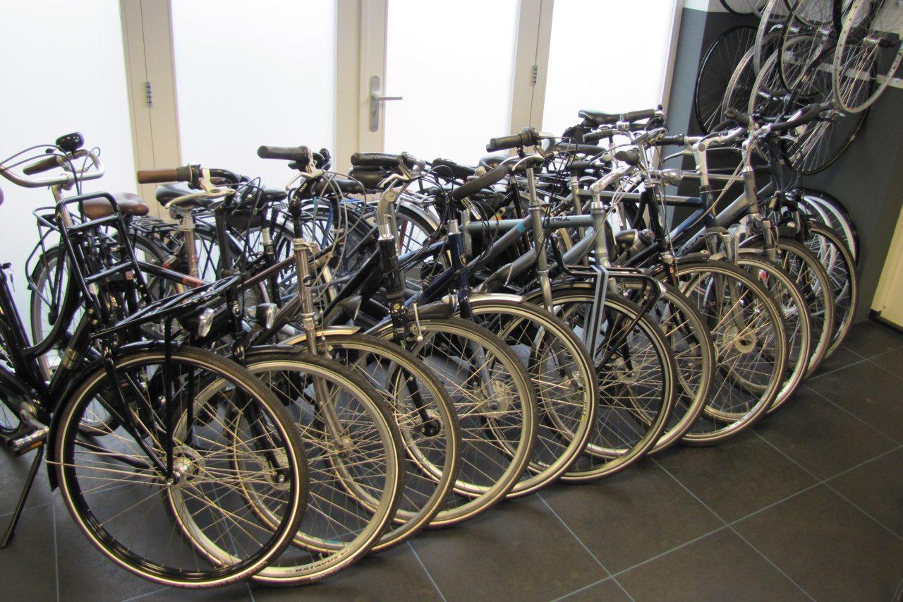 Tweedehands fietsen bij Van Vliet