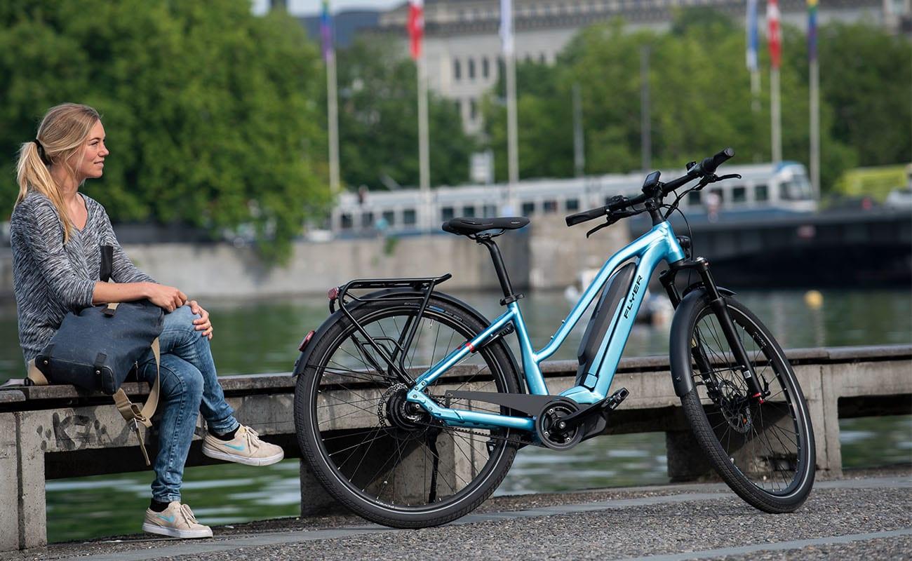 Flyer Elektrische fietsen